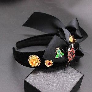 Image 4 - Serre tête Baroque, exagéré, sauvage, accessoires pour cheveux, arc dabeille, nouveau, serre tête boule de mode, 594