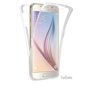 360 Full Body Protection Hybrid Case Soft TPU Transparency Cover For Galaxy S9 Plus J3 J5 J7 A3 A5 A7 2017 G6 S7 Edge S10 S8(China)