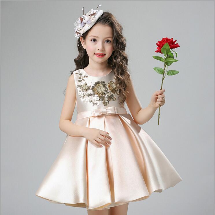 Online Shop Top Quality Girls Formal Dresses Toddler Baby Girl