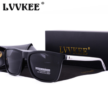 LVVKEE 2017 New Aluminum magnesium Legs Men's Sunglasses Classic Design Polarized Women Sun Glasses UV400 Night Vision Goggles