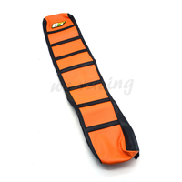 Pro Ribbed Motorcycle Soft Girp Gripper Rubber Soft Seat Cover For KTM SX525 SX450 05 06 EXC525 05 07 MXC 04 05 06 07