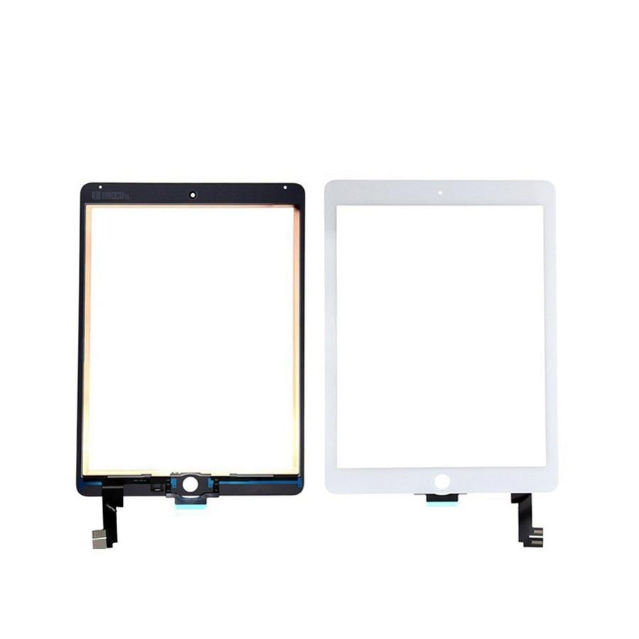 1 unids/lote WINCOO para iPad aire 2 2nd pantalla táctil digitalizador (No IC conector) + Panel táctil frontal para iPad 6 A1566 A1567 reemplazo