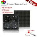 SMD2727 P5 открытый полноцветный СВЕТОДИОДНЫЙ модуль 160*160 мм 32*32 пикселей rgb LED панель управления