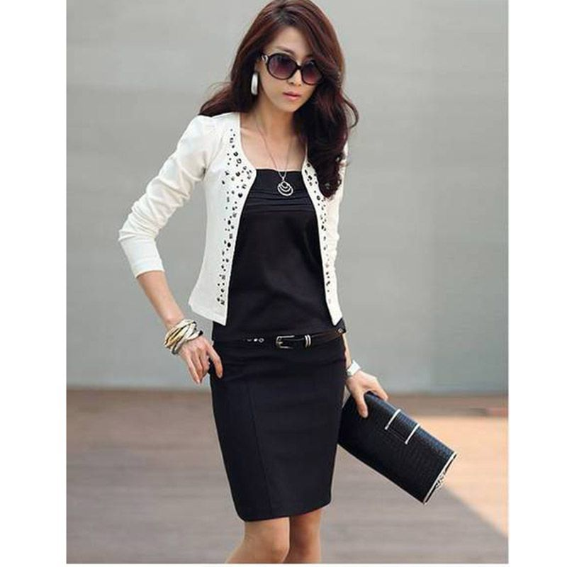 Popular Black Short Coat-Buy Cheap Black Short Coat lots from ...