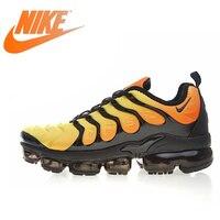 Оригинальный Nike Оригинальные кроссовки Air Vapormax плюс TM Для мужчин бега Уличная обувь, кроссовки обувь дизайнерские спортивные Новое поступл