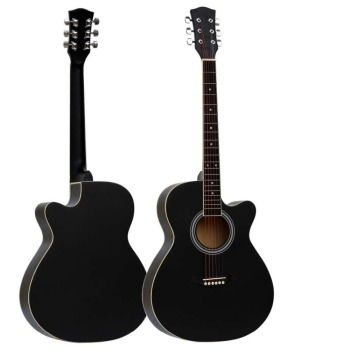 Best Selling 40 Acoustic Guitar For Beginners Basswood Guitar Matte Multiple Colors  Practice Guitar Musical Instrument acoustic custom guitar 41 inch full size 6 string basswood with guitar kit from us