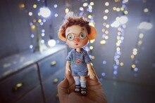 BJD mini gris handgjord gåva leksak flervägs kropp är lämplig för att ge, samling serie 1.