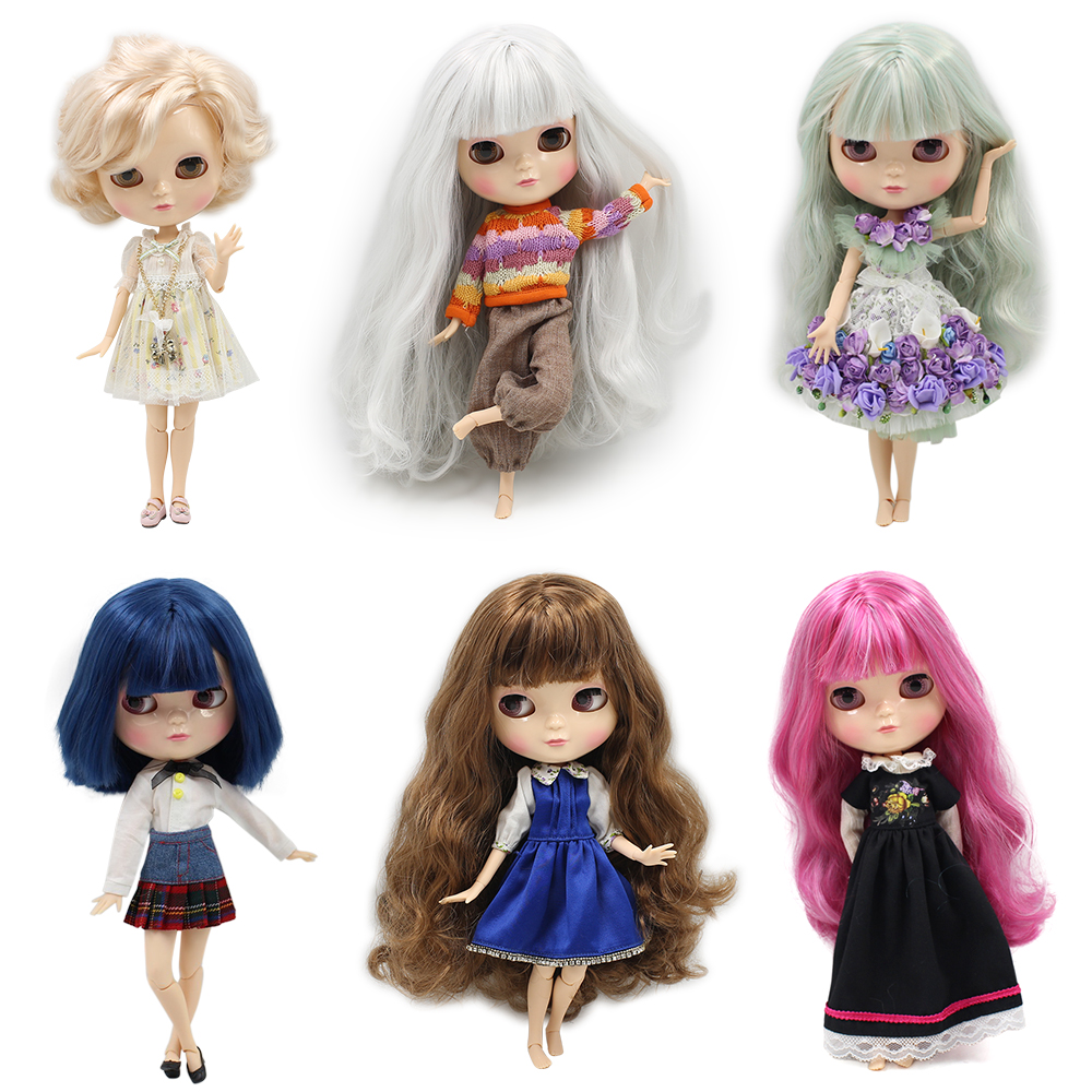 Fortune Days ICY Doll 1/6 joint body including hand setAB like the blyth doll High Quality Special offer with makeup hot Selling
