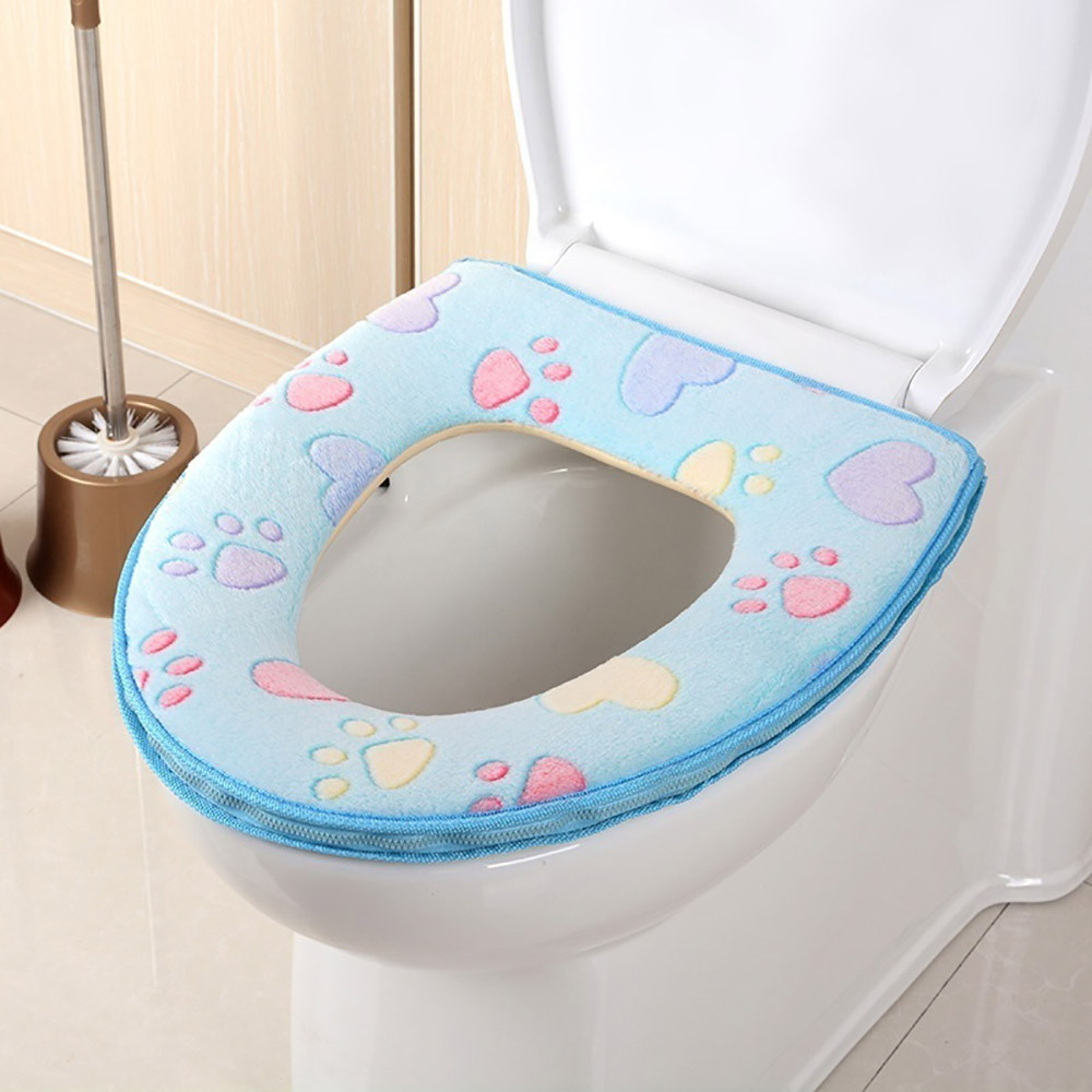 Enjoyable Us 2 11 34 Off Hot Sale Toilet Seat Cover Bathroom Warmer Toilet Seat Cloth Soft Closestool Washable Lid Top Cover Pad Toilet Accessories In Toilet Inzonedesignstudio Interior Chair Design Inzonedesignstudiocom
