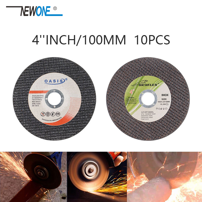 4 Inch 100mm Resin Cutting Blade Cut Off Wheels Sanding Grinding Disc Angle Grinder Cut Blade