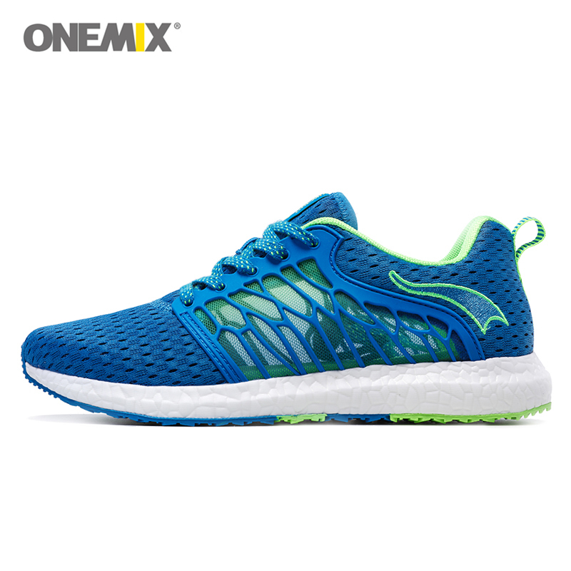 ФОТО Onemix Breathable Men Shoes Running Trainers Leisure Sport Athletic Sneaker Man's Walking Outdoor 6 Colors Zapatos Para Correr