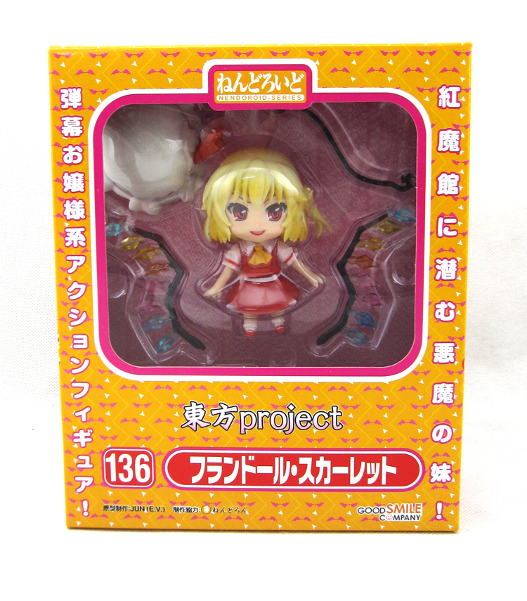 Nendoroid 136 Touhou Project Flandre Scarlet Good Smile Company from Japan
