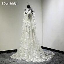 1f6fe1a15c Suknia Ślubna W Stylu Vintage Czeski Boho Chic Długim rękawem Koronkowe  Aplikacje Vestido De Novia 100