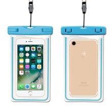 For Meizu pro 7 pro 6s pro 7 plus 6 plus 6s m6 A5 E2 5s m5s x m5c Waterproof Case Smart Cover Hang Bags Pouch Mobile Phone Case meizu pro 6s