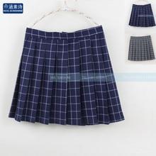 2019 Women'S Harajuku High Waist Skirt College Style Pleated Plaid Student Skirt Female Japanese Kawaii Skirts For Women