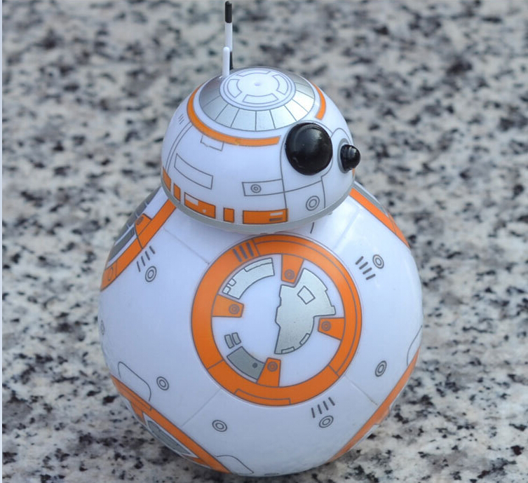 Star Wars The Force Awakens BB8 BB-8 Droid Robot Action Figure Gift children Super hero bb8 smart ball tumbler model cartoon toy hot sale removable armor deformable big hero 6 2015 new deformable robot baymax children s action toy figures holiday gift
