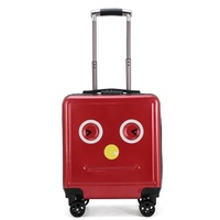 travel taleCute Children Rolling Luggage Spinner Carry On Travel Bag 16 inch Kids Suitcase Wheels Trolley Password Trunk