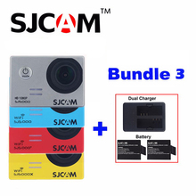 Original SJCAM SJ5000X Elite SJ5000 Plus SJ5000 WIFI SJ 5000 30M Waterproof Sports Action Camera Sjcam DVR+2Battery+Dual Charger