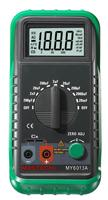MASTECH MY6013A 1999 Counts Digital Capacitance Meter 200pF To 20mF Capacitor Tester