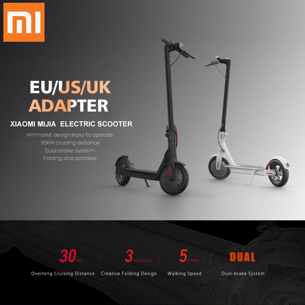 Detail Feedback Questions About Original Xiaomi M365 Electric Strapless Heart Rate Monitor Circuit Board Scooter Foldable Smart Hoverboard Skate 30km Mileage Long Lightweight With App On