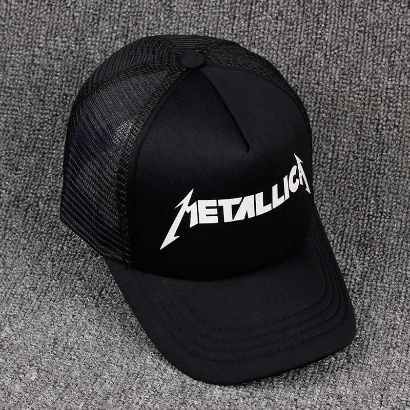 196c1c02026 ... TUNICA 2017 fashion METALLICA print Custom Unstructured Baseball cap  truck driver Hat Adjustable men women Cap ...