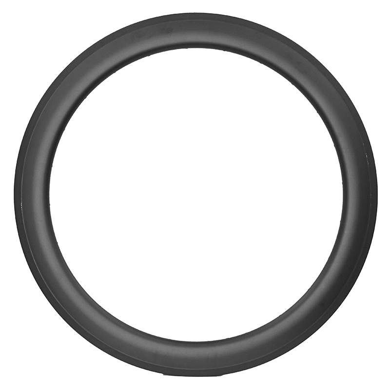 Top 650C Bicycle Carbon Rim 50mm Tubular Type 23mm Width Basalt Braking Surface Carbon Wheels Hand Build 20/24H Rims  Customized usb3 0 round type panel mounting usb connecter silver surface