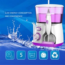 Waterpulse 100-240V Oral V300R Irrigator Water Jet Pick 800ML Capacity Tooth Cleaner Dental Floss Teeth Flosser Hydro Set