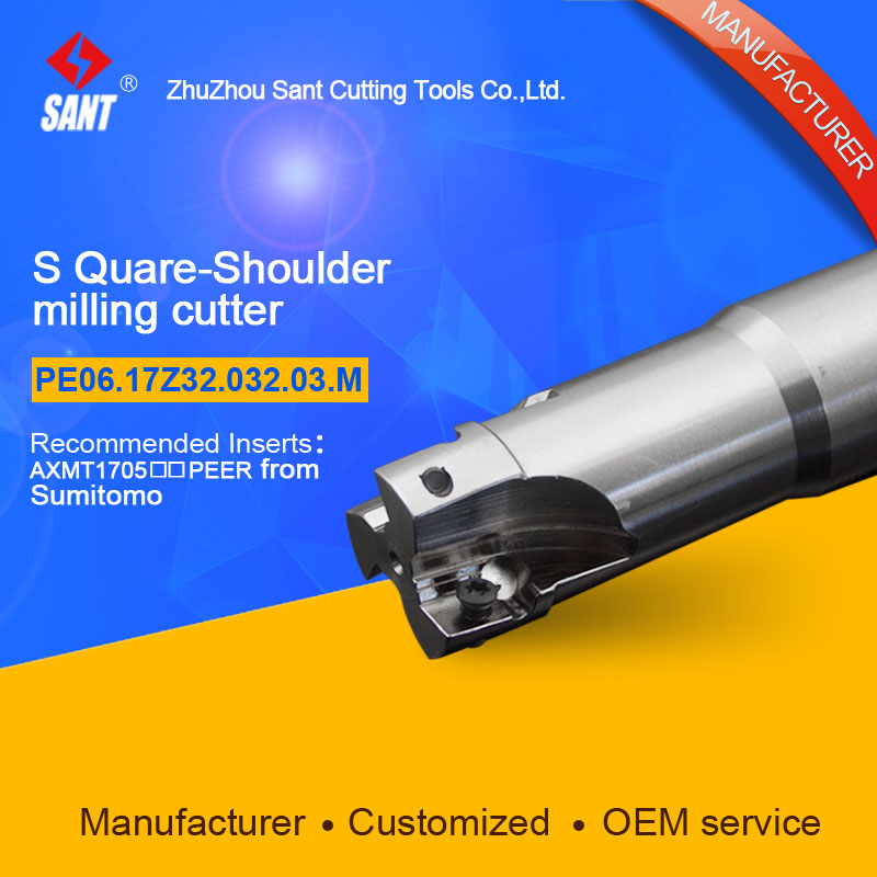 Customized size Square Should Milling Cutter Kr 90 PE06.17Z32.032.03.M, with APKT1705PER insert  цены