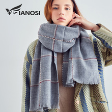 VIANOSI Women Scarf Newest Design Soft Warm Scarf Winter Brand Shawl Fashion cachecol Thicken Long echarpe Women VA212