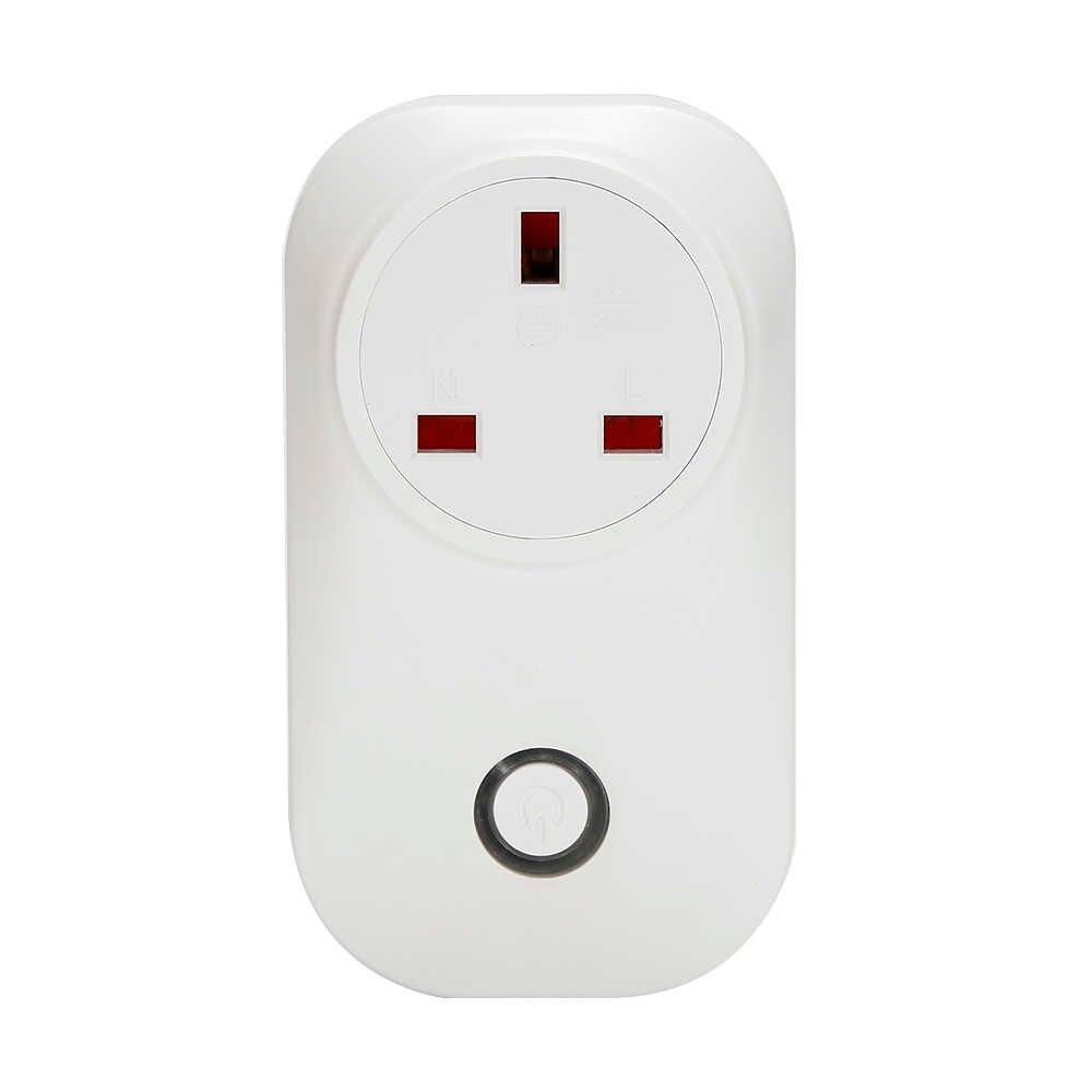 Sonoff S20 inteligentnego domu adapter do ładowania inteligentny przełącznik bezprzewodowy pilot zdalnego sterowania gniazdo zasilania ue/US/UK standardowy adapter do ładowania