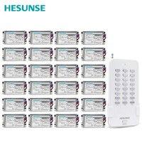HS QA161 1N24 металлические приемники 24Ch RF 85 V 265 V дистанционного Управление переключатель для света