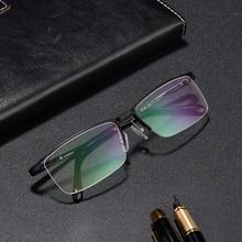 Handoer Semi-Rimless Optical Glasses Frame for Women Eyewear Spectacles Prescription Vintage