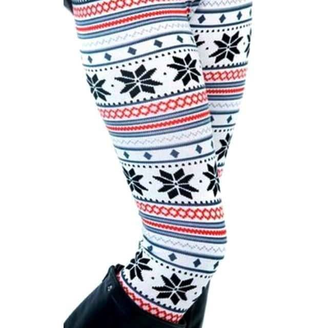 Winter Knit Snowflake Legging 6