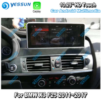 YESSUN For BMW X3 F25 2011~2017 Car Android Carplay GPS Navi map Navigation Player Multimedia Hi Fi Wifi Stereo HD Screen No DVD