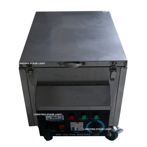 Image 5 - High Grade 3000W Dry Ice Machine Stage Light / Fog Machine/Low Fog Machine Small Size Free Shipping Wedding Video Equipment