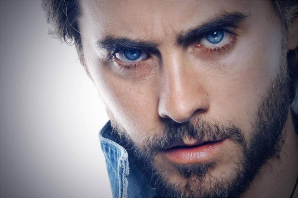 Rock singer Jared Leto Sexy blue eyes Home Decoration Art silk fabric cloth  canvas poster printing|print picture on fabric|printed cloth tapeprinted  numbers - AliExpress