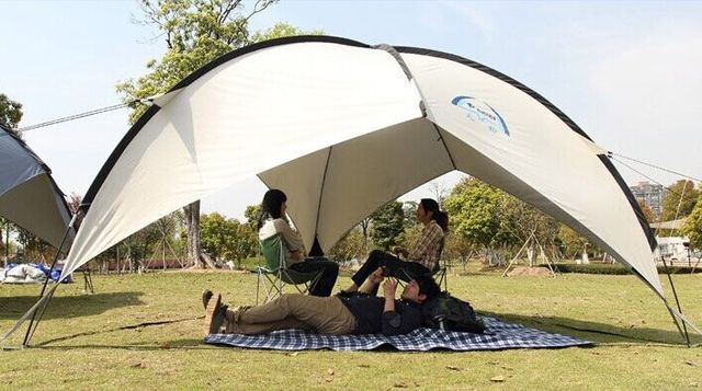 Large 10 Person Party Tent Sun Shelter Lightly Beach