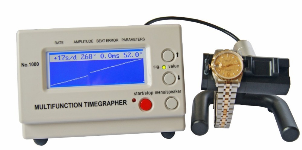 Wholesale Mechanical Watch Timing Machine Multifunction Timegrapher No 1000 for watch makers and watch hobbyists