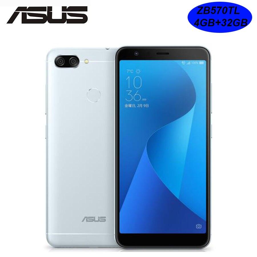 Global ASUS ZenFone 4S Max Plus ZB570TL Dual SIM 4G LTE Mobile Phone 5 7inch 4GB