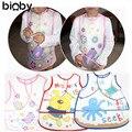 Kids Childs Arts Craft Painting Cooking Apron Baby Bib Play Waterproof Baby Boy Girl Kids Bibs Waterproof Saliva Towel