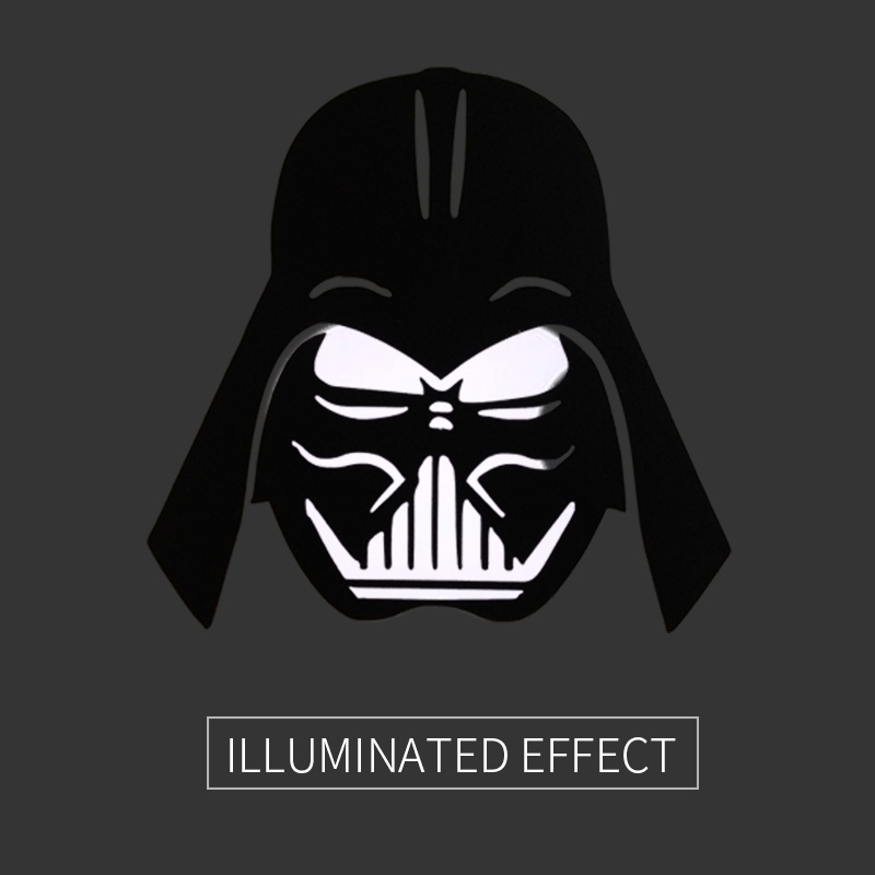 Darth Vader Head Cool Laptop Sticker for Apple MacBook Decal 11 12 13 15 Air Pro