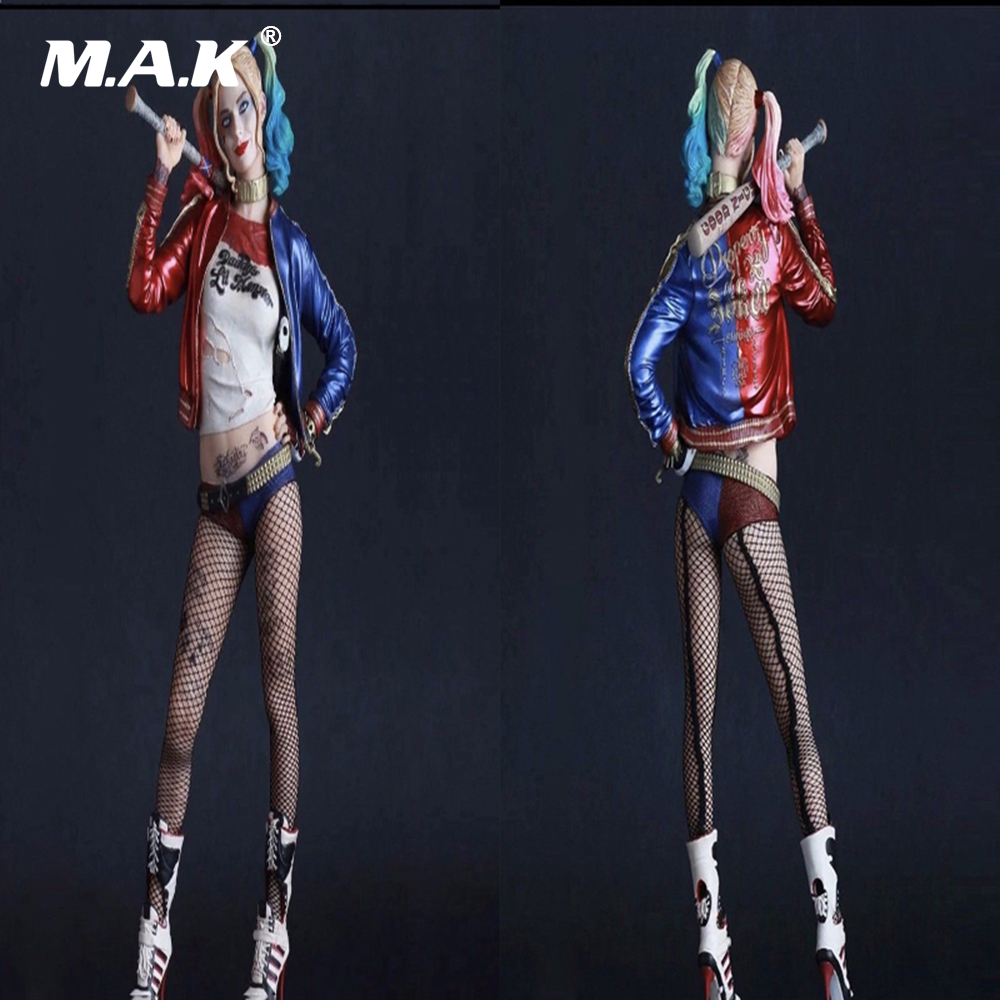12 Inches Suicide Squad Joker Harley Quinn 1/6 Scale Female Action Figure Model Toy Harleen Batman Deadshot Venom For Collection batman suicide squad harley quinn movie cosplay costumes shoes boots high heels custom made for adult women halloween party