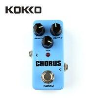 KOKKO FCH2 Mini Chorus Pedal Portable Guitar Effect Pedal High Quality Guitar Parts Accessories Guitarra Effect