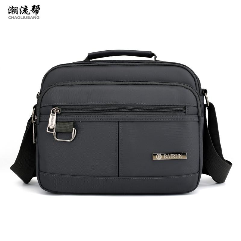 2019 Casual Men's Bag Nylon Shoulder Bag Solid Color Diagonal Bag Ladies Zipper Handbag Bolsa Feminina Bolsos Mujer Sac A Main