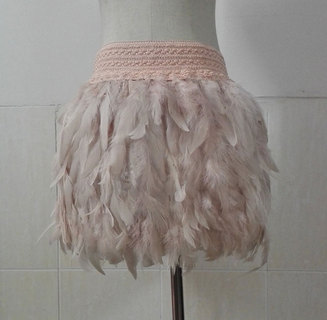 d45f7585a08 Rooster coque feather skirt