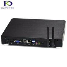 Kingdel Windows 10 Barebone мини-ПК Intel i5 4260u настольный процессор игровой компьютер с Graphics 5000 HDMI VGA opt