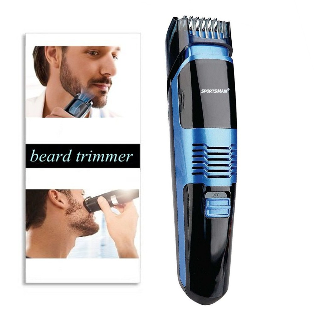 Professional vacuum beard trimmer for men hair trimer mustache trim rechargeable face shaving machine electric stubble trimming