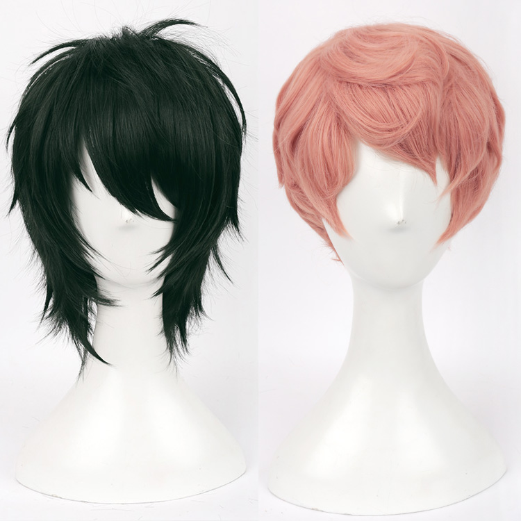 Anime Ensemble Stars Valkyrie Mika Kagehira Syu Itsuki Hair Cosplay Costume Unisex Synthetic Party Hair