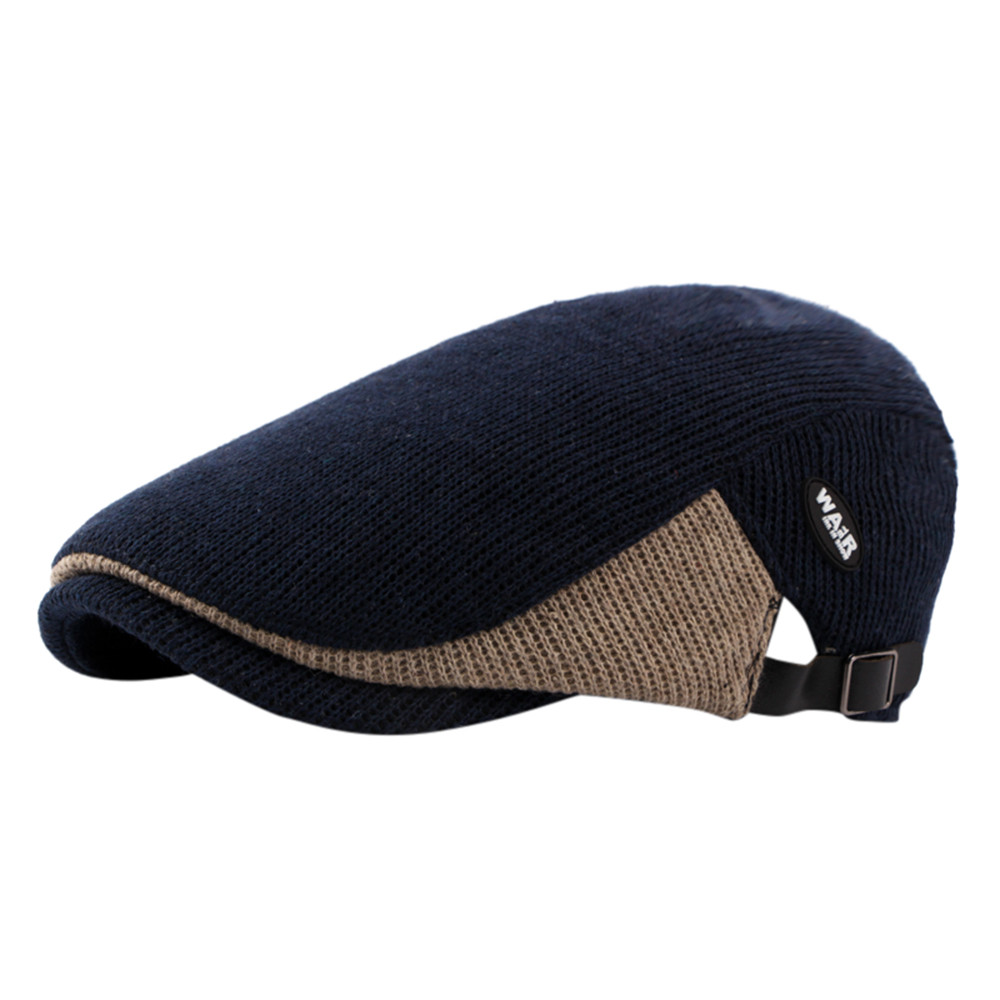 Winter Auturm Casual women Men Duckbill Ivy Caps Golf Driving Flat Cabbie Newsboy Beret Hat gorras para hombre