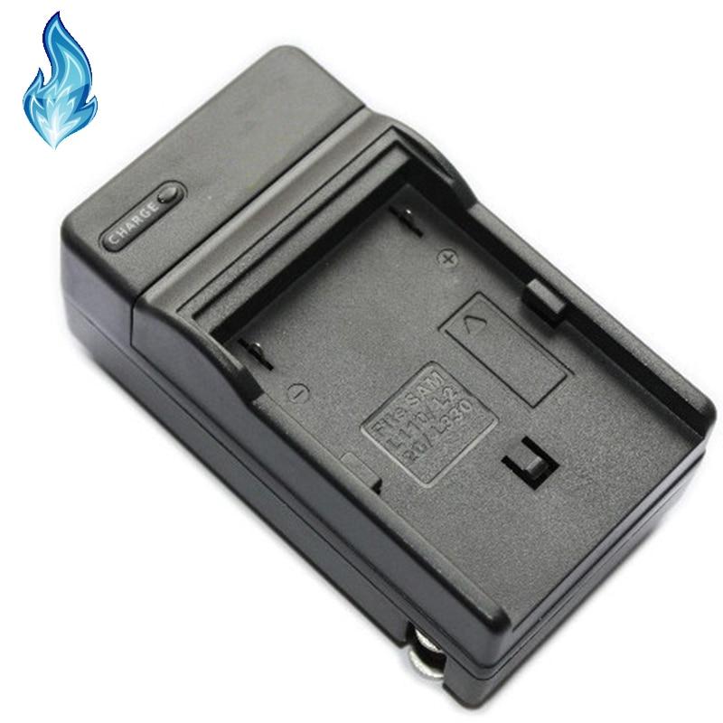 LCD USB Travel Battery Charger for Samsung VP-D85 VP-D87D Digital Video Camcorder VP-D87